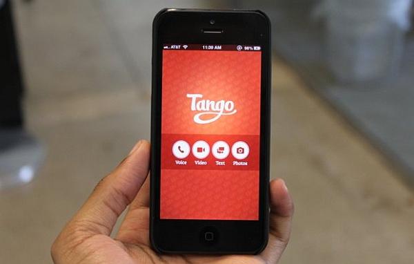 Place Tango Messenger App