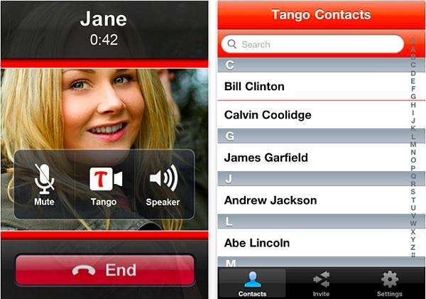 Neaten a Tango Call