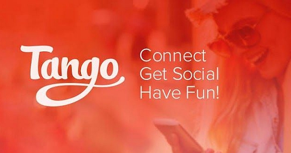 Tango helps you to Connect to your friends and family